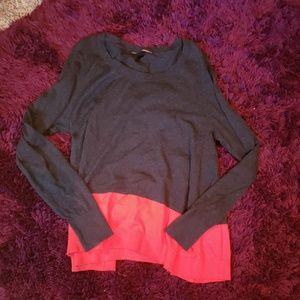 Victoria secret medium grey long sleeve sweater